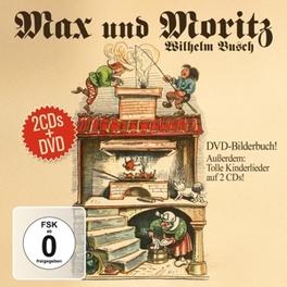 MAX & MORITZ.. -DVD+CD- .. MEISTERWERKE Wilhelm Busch, DVD