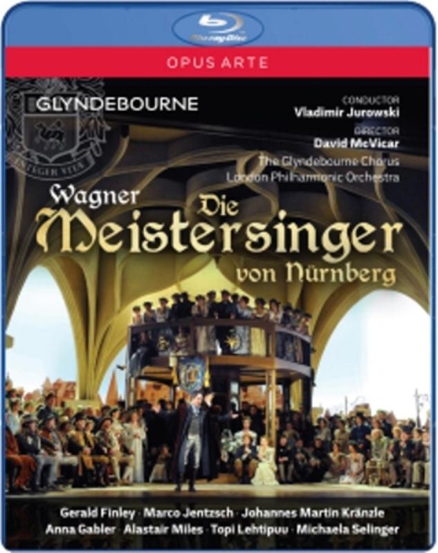 DIE MEISTERSINGER LONDON PHILHARMONIC ORCHESTRA R. WAGNER, Blu-Ray