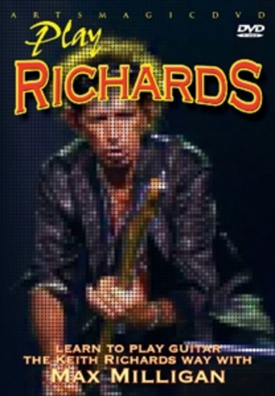 PLAY RICHARDS INSTRUCTION DVD MAX MILLIGAN, DVDNL