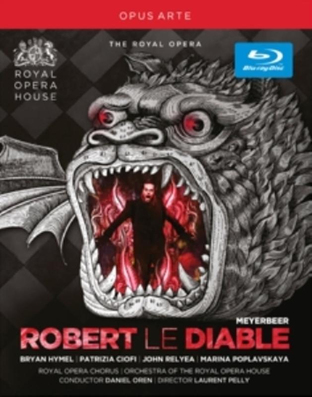 ROBERT LE DIABLE G. MEYERBEER, Blu-Ray