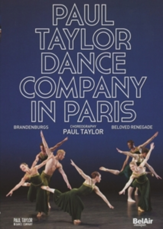 PAUL TAYLOR DANCE COMPANY PAUL TAYLOR DANCE COMPANY J.S. BACH, DVD