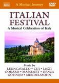 Various - A Musical Journey: Italian Festival, (DVD) LEONCAVALLO/CUI/LISZT/GODARD/MASSENET/DENZA/& OTHERS