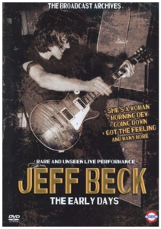 Jeff Beck - Early Years, The, (DVD) RARE AND UNSEEN LIVE PERFORMANCE JEFF BECK, DVDNL