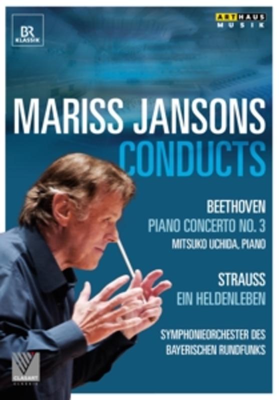 Symp Bayerischen Rundfunks Uchida - Mariss Jansons Dirigeert Beethoven,, (DVD) NTSC/ALL REGIONS/M.UCHIDA/BAYERN RUNDFUNK S.O. MARISS JANSONS, DVDNL