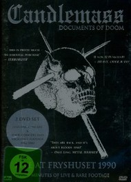 DOCUMENTS OF DOOM PAL/REGION 2//FULL CONCERT & MORE CANDLEMASS, DVDNL