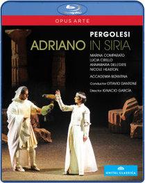 Comparato/Cirillo/Accadelia Bizanti - Adriano In Siria, (Blu-Ray) ACCADELIA BIZANTINA/O.DANTONE G.B. PERGOLESI, Blu-Ray