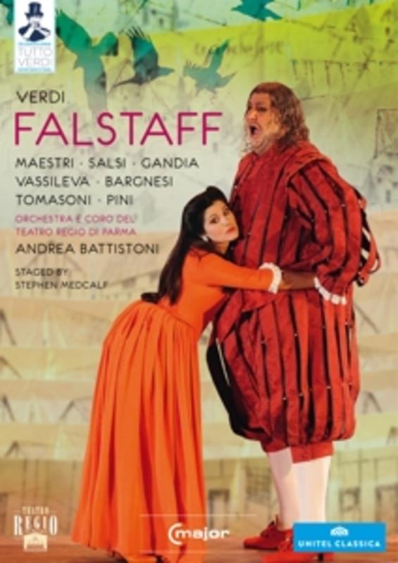 FALSTAFF PARMA 2011 G. VERDI, DVD