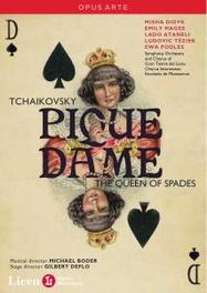 PIQUE DAME, TCHAIKOVSKY, PJOTR ILJITSJ, BODER, M. GRAN TEATRO DEL/M.BODER DVD, P.I. TCHAIKOVSKY, DVD