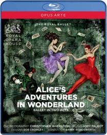 Cuthbertson/Polunin/The Royal Opera - Alice's Adventures In Wonderland, (Blu-Ray) BARRY WORDSWORTH J. TALBOT, Blu-Ray