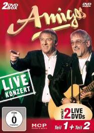 LIVEKONZERT-TEIL 1 & 2 AMIGOS, DVDNL