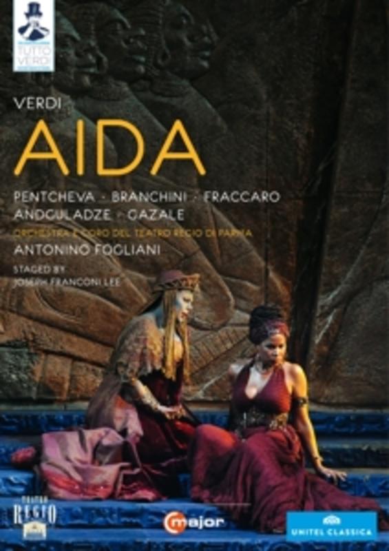 AIDA PARMA 2012/NTSC/ALL REGIONS/W/MALINVERNO/PENTCHEVA/A.O. G. VERDI, DVD