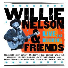 LIVE AND KICKIN' W/ERIC CLAPTON/NORAH JONES/SHANIA TWAIN/STEVEN TYLER/AO Audio CD, WILLIE NELSON, CD