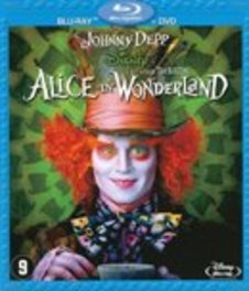 Alice in wonderland, (Blu-Ray) CAST: JOHNNY DEPP MOVIE, Blu-Ray