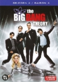 Big bang theory - Seizoen 4, (DVD) BILINGUAL /CAST: JIM PARSONS, KALEY CUOCO TV SERIES, DVDNL