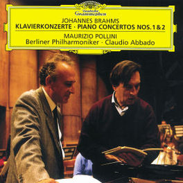 PIANO CONCERTOS NO.1&2 W/MAURIZIO POLLINI, BERLINER PHILHARMONIKER, CLAUDIO AB Audio CD, J. BRAHMS, CD