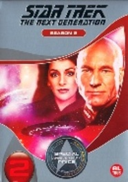Star trek the next generation - Seizoen 2, (DVD) *REPACKAGE* // BILINGUAL (DVD), TV SERIES, DVDNL