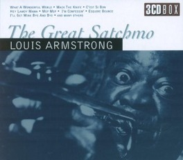 GREAT SATCHMO Audio CD, LOUIS ARMSTRONG, CD