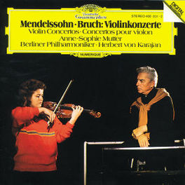 VIOLIN CONC. IN E MUTTER/BP/KARAJAN Audio CD, MENDELSSOHN/BRUCH, CD