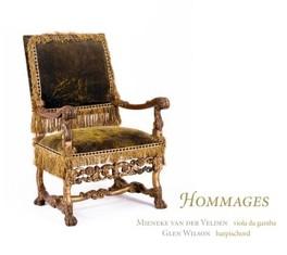 HOMMAGES W/GLEN WILSON MIENEKE VAN DER VELDEN, CD