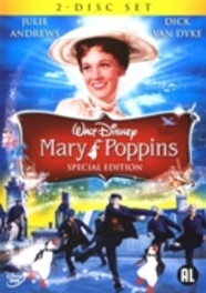Mary Poppins, (DVD) CAST: JULIE ANDREWS, KAREN DOTRICE, REGINALD OWEN ANIMATION, DVDNL