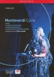 PIERRE AUDI S MONTEVERDI CYCLE BOX, MONTEVERDI, STUBBS/PORCELIJN/ROUSSET/WILSON NTSC/ALL REGIONS // W/AINSLEY/JOHNSON/CHANCE/STU DVD, C. MONTEVERDI, DVDNL