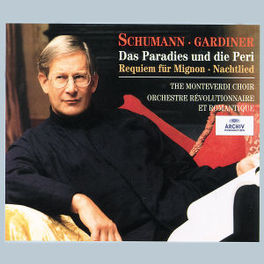 WORKS FOR CHOIR AND ORCHE JOHN ELIOT GARDINER/MONTEVERDI CHOIR/ORCH REVOLUTIONAIR Audio CD, R. SCHUMANN, CD