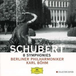 8 SYMPHONIES *BOX* BERLINER PHIL./KARL BOHM Audio CD, F. SCHUBERT, CD