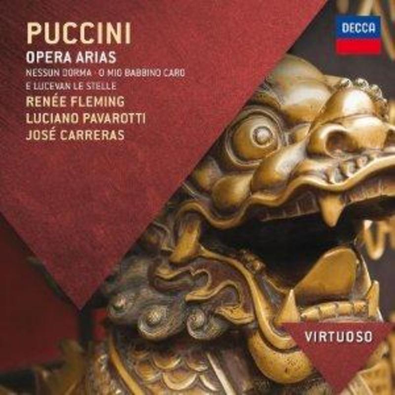 OPERA ARIAS PAVAROTTI/CARRERAS PUCCINI, G., CD