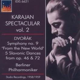 SPECTACULAR VOL.2 1958-19 WORKS BY DVORAK... HERBERT VON KARAJAN, CD