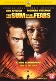 Sum of all fears, (DVD)