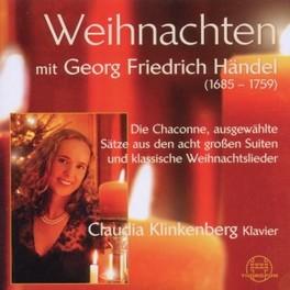 WEIHNACHTEN MIT HANDEL CLAUDIA KLINKENBERG G.F. HANDEL, CD