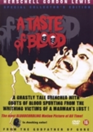 Taste of blood, (DVD) HERSCHELL GORDON LEWIS/PAL MOVIE, DVDNL
