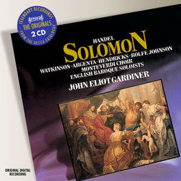 SOLOMON ENGLISH BAROQUE SOLOISTS/GARDINER Audio CD, G.F. HANDEL, CD