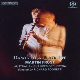 DANCES TO A BLACK PIPE MARTIN FROST COPLAND/BRAHMS/FROST, Audio Visuele Media