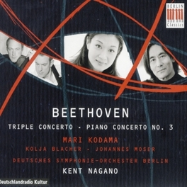 TRIPLE CONCERTO/PIANO CON KODAMA/BLACHER/MOSER L. VAN BEETHOVEN, CD