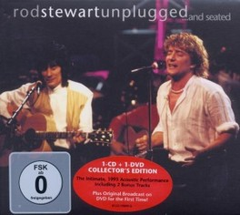 UNPLUGGED AND SEATED CD+DVD Audio CD, ROD STEWART, CD