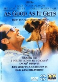 As good as it gets, (DVD) PAL/REGION 2 // W/ JACK NICHOLSON, HELEN HUNT (DVD), MOVIE, DVDNL