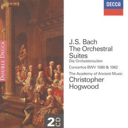 ORCHESTRAL SUITES BWV1060&1062/W/CHRISTOPHER HOGWOOD, ACADEMY OF ANCIENT Audio CD, J.S. BACH, CD