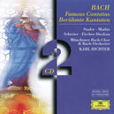 FAMOUS CANTATAS BWV 4, 51 MATHIS/STADER/SCHREIER/MUNCHENER BACH CH& ORCH/RICHTER