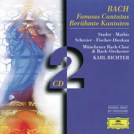 FAMOUS CANTATAS BWV 4, 51 MATHIS/STADER/SCHREIER/MUNCHENER BACH CH& ORCH/RICHTER Audio CD, J.S. BACH, CD