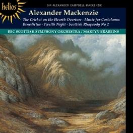 ORCHESTRAL MUSIC BBC SCOTTISH ORCHESTRA/MARTYN BRABBINS A.C. MACKENZIE, CD