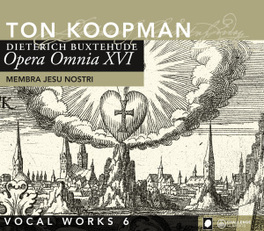 MEMBRA JESU NOSTRA -.. TON KOOPMAN/AMSTERDAM BAROQUE ORCHESTRA D. BUXTEHUDE, CD