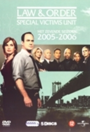 Law & order S.V.U. - Seizoen 7, (DVD) 22 ESPISODES TV SERIES, DVDNL