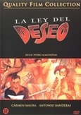 Ley del deseo, (DVD) PAL/REGION 2 // *QUALITY FILM COLLECTION*