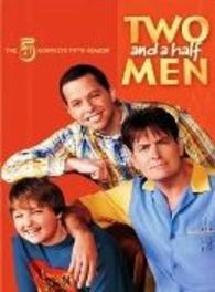 Two and a half men - Seizoen 5, (DVD) BILINGUAL /CAST: CHARLIE SHEEN Lorre, Chuck, DVDNL