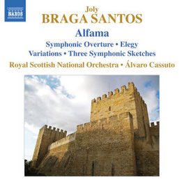 SYMPHONIC OVERTURE/ELEGY WORKS BY JOLY BRAGA SANTOS ALFAMA ROYAL SCOTTISH NATIONAL ORCHESTRA, CD