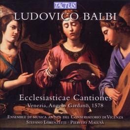 ECCLESIASTICASE CANTIONES ENSEMBLE DI MUSICA ANTICA DEL CONSERVATORIO DI VICENZA L. BALBI, CD