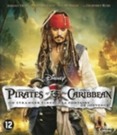 Pirates of the Caribbean 4 - On stranger tides, (Blu-Ray) ..ON STRANGER TIDES / BILINGUAL /CAST: JOHNNY DEPP MOVIE, Blu-Ray