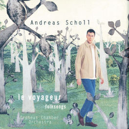 WAYFARING STRANGER ORPHEUS CHAMBER ORCHESTRA Audio CD, ANDREAS SCHOLL, CD