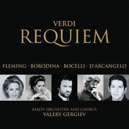 REQUIEM W/RENEE FLEMING, OLGA BORODINA, ANDREA BOCELLI, KIROV O Audio CD, G. VERDI, CD